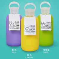 Wholesale Bkr Glass Water Bottle Silicone Cover carry a water bottle DHL Free OTH299