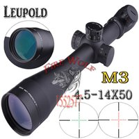 ao scopes - 2016 NEW Leupold Mark M3 x50 mm AO illuminated Mildot side wheel for hunting scope