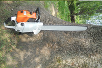 gas cylinder - orange color cc MS chainsaw with st saw chain