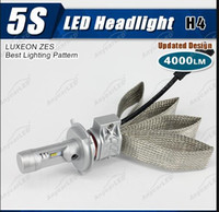 Wholesale 2016 New S set H7 H4 H11 H8 W LM K Beam For Philips Car LED Headlight Kit DRL Driving Lamp