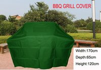 Wholesale BBQ Grill cover with ribbons Water proofed cover quot