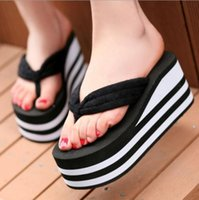 Wholesale New Leopard colors Toweling Flat Leisure Pinch Sandals Skid Wear Flip flops Outlet