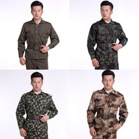 Wholesale Outdoor Angel Training Clothing Protective Work Suit Sports Jacket camouflage Unfirom Equipment Military Combat Jacket Pants