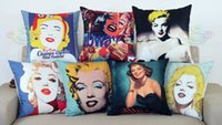 beauty memories - The forever beauty Marilyn Monroe American pop cultrue Classic memory pillow massager decorative pillows case home popular shoot
