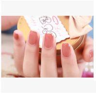 Wholesale IDOL COLOR pure COLOR nail polish import environmental protection raw material
