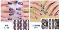 Wholesale Nail Wraps Nail Polish Sticker Nail Art Stickers Nail Tools Style For Choose Brand New