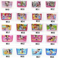 avengers gift card - 12Pcs Spiderman Big Hero The Avengers Princess Sofia Anna Elsa Cartoon Wallet Change Pocket Purse for Children Christmas Gift