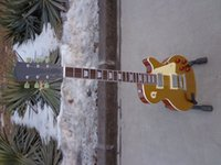 Wholesale best china guitar Traditional Gold top FANTASTIC Electric Guitar OEM Musical Instruments