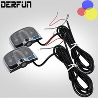 Wholesale 2Pcs Pair Cheap No Drill LED Car Door Lights Lighting Auto Modification Decoration Logo Lights for Volkswagen