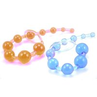 adult toys home - Home Adult Sex Toy Silicone Chain Anal Butt Beads Stimulator Orgasm Plug Gift X1 R21