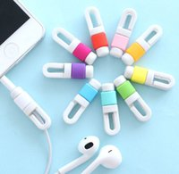 best seller headphones - Best seller phone Accessory USB cable earphones protector cable winder for Iphone Headphone Cord