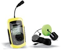 Wholesale HD Sonar Fishfinder LCD Alarm M AP Ice Wireless Fish Finder Fishing gear Fishing Camera