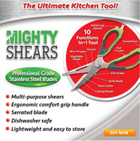 Wholesale Mighty Shears Scissors The Ultimate Kitchen Tool Mighty Shears Professional Grade Stainless Steel Blades New Arrival Kitchen Knives fb