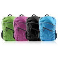 Wholesale Sports Folding Backpack Men Women Lightweight Travel Waterproof Outdoor Foldable Backpack School Casual Bag Fashion Knapsack