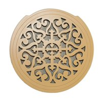 Wholesale Carved Wooden Acoustic Guitar Sound Hole Cover Antilarsen Exclusive Inch Guitar Sound Hole Block
