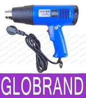 Wholesale LCD Digital display Monitor Adjustable temperature Hand held hot air gun industrial heat gun Soldering Irons V W GLO156
