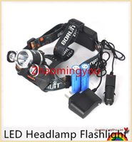 Wholesale YON RJ Headlight Lumen Headlamp x XML T6 LED Head Lamp T6 LED Linternas Frontales For Camping