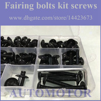 Wholesale Fairing Screw Bolts Kit black For HONDA CBR1000RR CBR RR CBR1000 RR CBR RR Fairings Bolts Screws