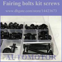 Wholesale Fairing Screw Bolts Kit black For HONDA CBR1000RR CBR RR CBR1000 RR CBR RR Fairings Bolts Screws