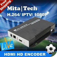 Wholesale MPEG H RTSP HDMI To IP Video Encoder IPTV For Live Streaming Broadcast