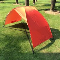 Wholesale sleeping Beach Shelter Tent Swimming Summer Outdoor Garden Shade Awning Beach Sun Shelter Fishing Canopy Beach Tent