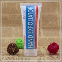 Wholesale Garlic hand exfoliator amp moisturizing whitening amp peeling hand cream ml