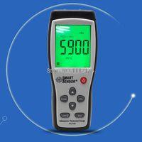 aluminium plate thickness - Smart Sensor AC100 LCD Digital Ultrasonic Thickness Gauge tester to MM Sound Velocity Meter For Steel Aluminium Plate