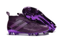 Wholesale Selll ACE PureControl FG NEW Men s Soccer Shoe boots cheap original Performance Mens ace soccer cleats football shoes