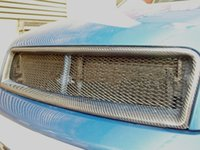 Wholesale CARBON FIBER A4 B6 RS4 BADGELESS FRONT MESH GRILLE