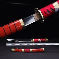 art craft japan - Handmade katanas swords katanas samurai japanese swords Sharp katana Metal crafts alloy tsuba Short paragraph