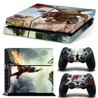 Cheap RPG Game Sticker dragon age inquisition Decal Stickers For Playstation 4 PS4 Console&2pcs Controller Vinyl Stickers Protective Sticker