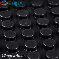 adhesive bumper - 320 mm x mm Black and Clear anti slip silica gel rubber plastic bumper damper shock absorber M self adhesive Silicone feet pads