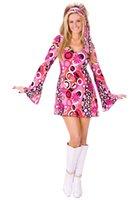 Wholesale Feelin Groovy Disco Costume F2436 Women sexy Halloween costumes