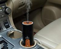 Wholesale Mini ml Car Air Humidifier Difusor De hotel Aroma Diffuser USB Ultrasonic Humidifier Essential Oil Diffuser Mist Maker Fogger