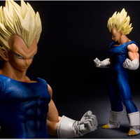 big msp - 26cm Dragon Ball Z MASTER STARS PIECE MSP Super Saiyan vegeta Figure DBZ PVC Action Figure Collection Model Toy