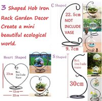 ball coat rack - Shaped Micro Landscape Suspension Hob Iron Rack Garden Decor It can be hanging glass ball