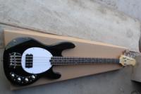 Mejor guitarra china Ernie Ball Música Hombre StingRay Bajo eléctrico Negro Negro OEM Musical
