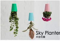 Wholesale Hot Sale Sky Planter Hanging Upside Down Plant Flowerpot Garden Home Office Decor