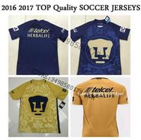 best mexico - Best Quality Mexico Club cougares Camiseta de futbol Centenary Golden blue Shirts Men SOCCER SHIRT