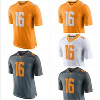 Wholesale Peyton Manning jersey Tennessee Volunteers College Football Jerseys New Style Game Stitched Jersey Mix Order