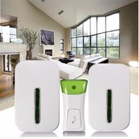 Wholesale Brand new Excellent Quality Wireless Double Smart Home Door Bell System Plug In Chime m Range Melodies