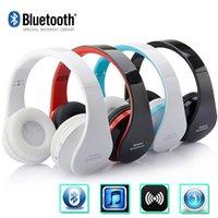 Wholesale Cheap Wireless Bluetooth Foldable Headset Stereo Headphone Earphone VS jaybird HBB HBS HBS for iPhone Samsung fedex free to USA