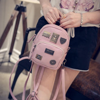 Wholesale Women bag Backpack Girls School Leather Shoulder Bag Satchel Travel Backbag