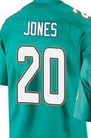 Wholesale Reshad Jones Miami elite JERSEY shirts size S small xl
