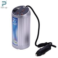Wholesale Car Inverter W DC V AC V Vehicle Air Purifier Freshener Oxygen Bar Negative Oxygen Ions Power Supply Switch Charger