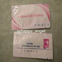 Wholesale 200 Urine Pregnancy Test Ovulation Test Strip Format FDA and CE Certified