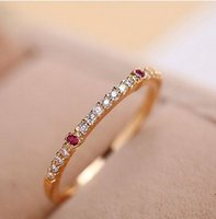 Wholesale Fashion brands crystal stone ring screw lover rose gold color silver bracelet valentine s day gifts ms