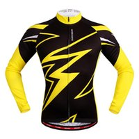 Wholesale 2016WOSAWE Quick Dry Breathable Cycling Jersey Long Sleeve Summer Spring Men s Shirt Bicycle Wear Racing Tops Cycling Clothings