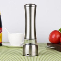 Wholesale Stainless Steel Manual Salt and Pepper Mill Grinder for cooking kitchen up