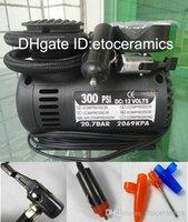 Barato Air compressor-Atacado 12V 300 PSI portátil lots100 Auto Electric Car bomba de ar Compressor pneu insuflação Ferramenta